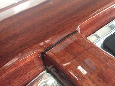 M/Y LEVEL 8 Wood Effect vinyl with clear coat. - Wild Group International