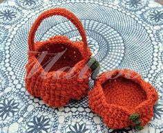 My Hobby Is Crochet: Halloween Pumpkin Basket - Free Crochet Pattern - Guest Contributor Post