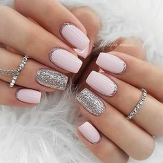 7 classic, neutral nail art designs for weddings that are sure to never go wrong # . 7 Classic Neutral Wedding Nail Art Designs That Surely Never Go Wrong 7 Classic Neutral Wedding Nail Art Designs That Surely Never Go Wrong Neutral Wedding Nails, Neutral Nails, Trendy Nail Art, Stylish Nails, Best Acrylic Nails, Acrylic Nail Designs, Nail Art Vernis, Milky Nails, 7 Arts