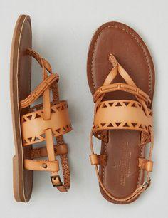 8b432ca48a4d AEO Cutout Buckle Sandals