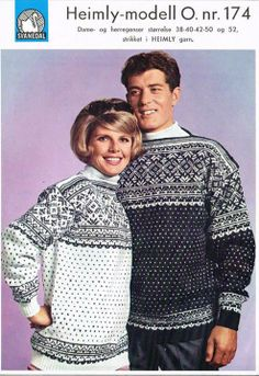 Norwegian Knitting, Ski Sweater, Fair Isle Knitting, Crochet Art, Knit Fashion, Vintage Knitting, Yarn Crafts, Lana, Christmas Sweaters