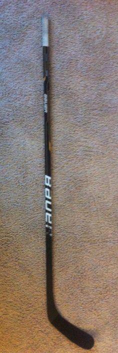 Evander Kane Winnipeg Jets Signed Game Used Atlanta (last season) Bauer Stick