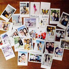Polaroid pic printed from Fuji insatx share sp1