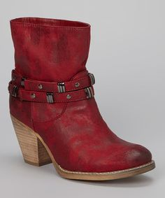 Take a look at this Red Taylor 01 Boot on zulily today!