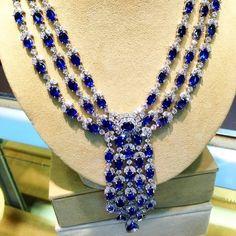 Sapphire Waterfall Collection #DianaM Dianamjewels #classic #designerjewelry #handmadejewelry #beauty #bejeweled #gems #engagementrings #likeforlike #tagsforlike #weddingday #chic #oneofakind #unique #diamond