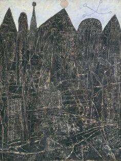 Jean Dubuffet. Large Black Landscape | Grand Paysage noir, 1946 art brut