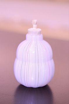 【津坂陽介・久保裕子 展】より、レースガラスの振り出し | Sophora