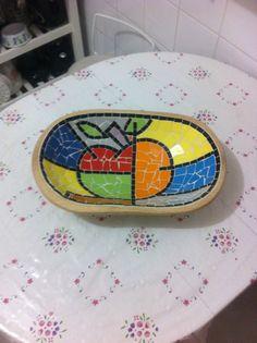 Artesanato e Mosaicos ( utilitários , bandejas , vasos , etc )