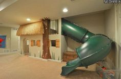 33 Awesome Indoor Slide to Get Downstairs Faster https://www.futuristarchitecture.com/17863-indoor-slide.html