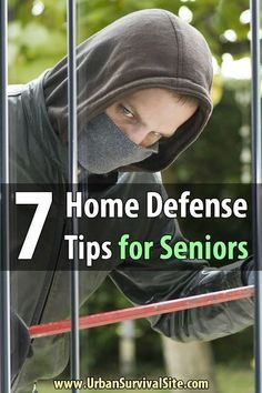 tend to be common targets for criminals. They are frequently targeted for and financialSeniors tend to be common targets for criminals. They are frequently targeted for and financial Home Security Tips, Wireless Home Security, Safety And Security, Home Security Systems, Security Camera, Security Alarm, Urban Survival, Survival Prepping, Emergency Preparedness