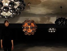 Beads Octo Suspension light by Innermost
