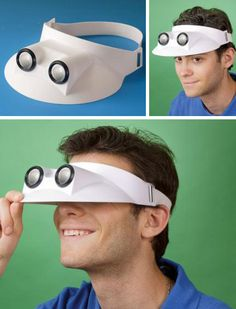 Binocular Visor