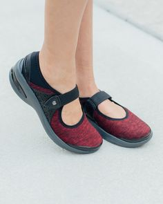 We're swooning over the Mary Jane shoe style! It offers comfort and style all in one!