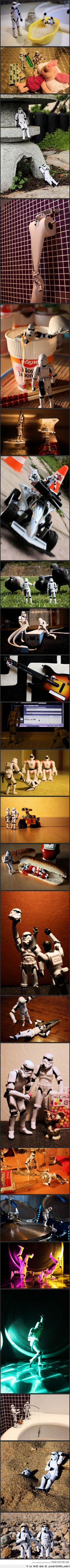 #Funny #Stormtroopers doing all type of things
