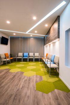 Chesapeake Pediatric Dentistry | reception area interior design | Arminco Inc
