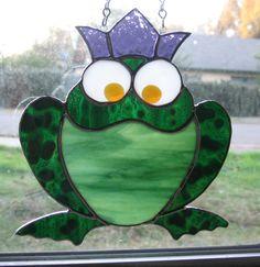 joanne's frog backlit