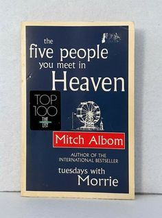 The Five People You Meet In Heaven by Mitch Albom good used condition paperback