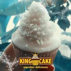 King Cake - Coconut Cupcake