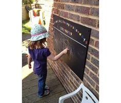 Alphabet Chalkboard - Only Christmas Gift Guide, Christmas Items, Christmas Presents, Kids Chalkboard, Summer Activities, Alphabet, Garden, Pictures, Image
