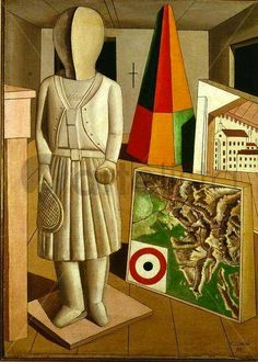 """"""" The Metaphysical Muse by Carlo Carra (1917) """""""