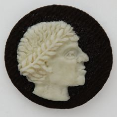 portrait of Caesar from an Oreo