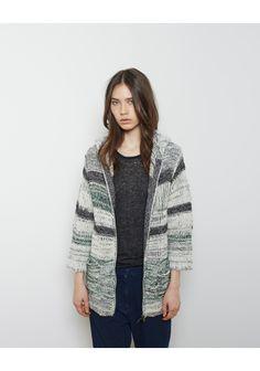 Isabel Marant Étoile Persan Knit Zip Cardigan   La Garçonne