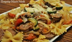 Bowtie Pasta with Italian Sausage From Comfy in the Kitchen - ChefTap
