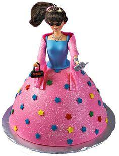 Wilton Doll Cake instructions