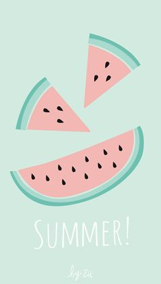 Imprimible Sandía Watermelon