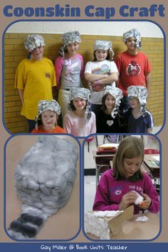 "Learn about the trapper's life in Colonial America by creating a ""coonskin"" hat from cotton balls. This kid's craft is great fun."