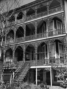 Baltimore Ironwork, 1956: 2000 Block of East Pratt Street. Thought to be the old John Gibbs home.