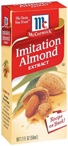 McCormick Imitation Almond Flavor, 2 oz (Pack of 6) >>> Find out more details by clicking the image