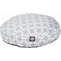 Majestic Pet Products Round Pet Bed, Gray Links