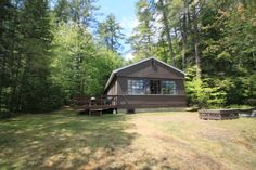 Visit LAKEHOUSEVACATIONS.com to book this home for your next lake vacation to Bridgton, ME on Highland Lake . 3 Bedrooms. Sleeps 10. For Rent Weekly $1895 - Highland Holiday - Highland Lake Log Cabin For 10. Wonderful spot. GREAT WEEKLY RATE ON THIS PROPERTY!! This comfortable, spacious lakeside log cabin is the perfect getaway spot for a family/friend gathering. Nice, big open floor plan with two sitting areas and lots of windows to take in the pretty lake view. Very comfortable and well…
