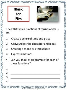 Do you teach Music for FILM?  Here is a unit for general music classes. A great introduction to a unit on music for film!      ♫ CLICK through to read more or Re-PIN for later! ♫