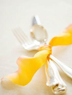 Yellow ribbon ties