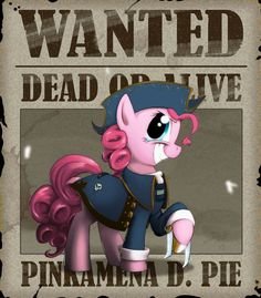 Wanted-Pinkie Pie