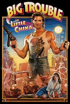 """BIG QUESTION, MOVIE FANS - John Carpenter has been selling the rights to several of his films for re-makes. Should """"Big Trouble in Little China"""" get a re-make? IMHO it could benefit from improved SFX but replacing Kurt Russell would be almost impossible."""