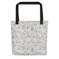 Under the Sea - Tote bag. Bring your favorite design everywhere you go. Under The Sea, Print Patterns, Reusable Tote Bags, Shop, Fabric, Tejido, Tela, Cloths, Fabrics