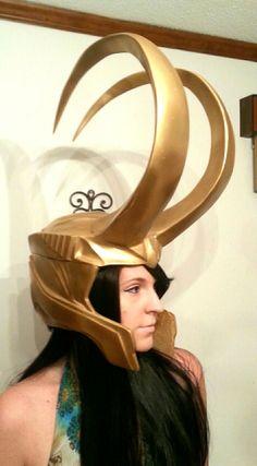 Loki Armor Cosplay Set w/ Helmet Loki Halloween Costume, Loki Costume, Cosplay Costumes, Costume Tutorial, Cosplay Tutorial, Lady Loki Cosplay, Loki Helmet, Santa's Nice List, Crazy Costumes