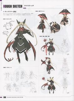 Blazblue Material Setting Collection, Blazblue, Rachel Alucard