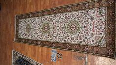 Hand knotted silk rug # Rug No.: P4281 # Quality: 150L (156kpsi) # Size: 2.5x8ft (76x244cm)  # Material: 100% Silk # wholesale Price: $360/piece # If you have any interests, please email to sales@bosicarpets.com        Hand-madecarpet#orienatlrug#oldrug#Kashmirrug#Chinacarpet#Iraniancarpet#boteh#HeratiGul# Isfahan#Tabriz#Qum#Nain#Kashan#Kerman#Bijar#Sarouk#Caucasian#antiquecarpet#bosicarpet
