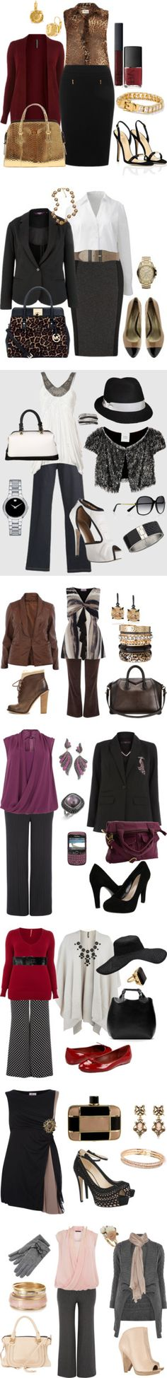 """plus size work clothes"" by stephanycarmona ❤ liked on Polyvore"