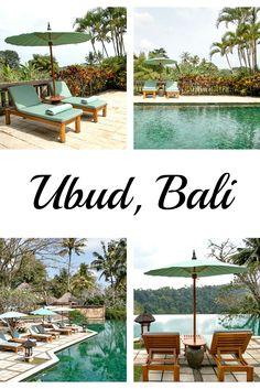 Ubud, Bali - more pictures at my travel blog. / Ubud, Bali: Amandari Hotel mit…