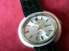 SEIKO 1970s KING SEIKO KS HI-BEAT AUTOMATIC 5246-5000 VINTAGE STEEL WATCH 40,7mm Watch Deals, Quality Watches, Seiko, Cool Watches, Omega Watch, 1970s, King, Steel, Ebay