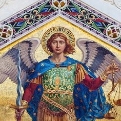 The Dedication of the Basilica of St. Michael Archangel Mass Propers: Friday in the Sixteenth Week after the Octave of Pentecost: . Angels Among Us, City Of Angels, St Michael Prayer, Saint Michael, Angel Hierarchy, Spiritual Images, Angel Warrior, My Guardian Angel, Archangel Michael