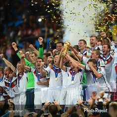 Tim Panzer Germany as a winner of Fifa World Cup 2014