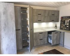 New kitchen range on display in our showroom and website, great value. Kitchen Ranges, Kitchen Units, Kitchen Cabinets, Concrete Kitchen, New Kitchen Designs, Cabinet Colors, Showroom, Locker Storage, Display