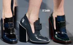 hate the chunky heel. love the front!  Jil-Sander-Milan-Fashion-Week-Fall-2013