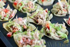 Wildtree's Asian Crab Salad WontonsRecipe - PAD Tai Sauce with NO PEANUTS!!!! Whoo hoo!